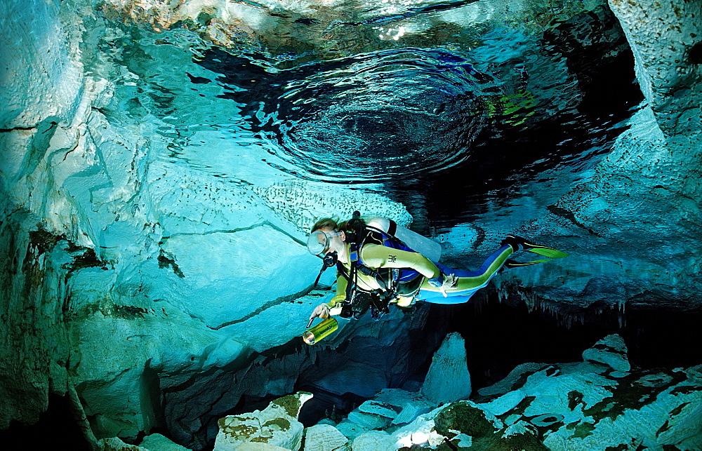 """High Quality Stock Photos of """"cave diver"""""""
