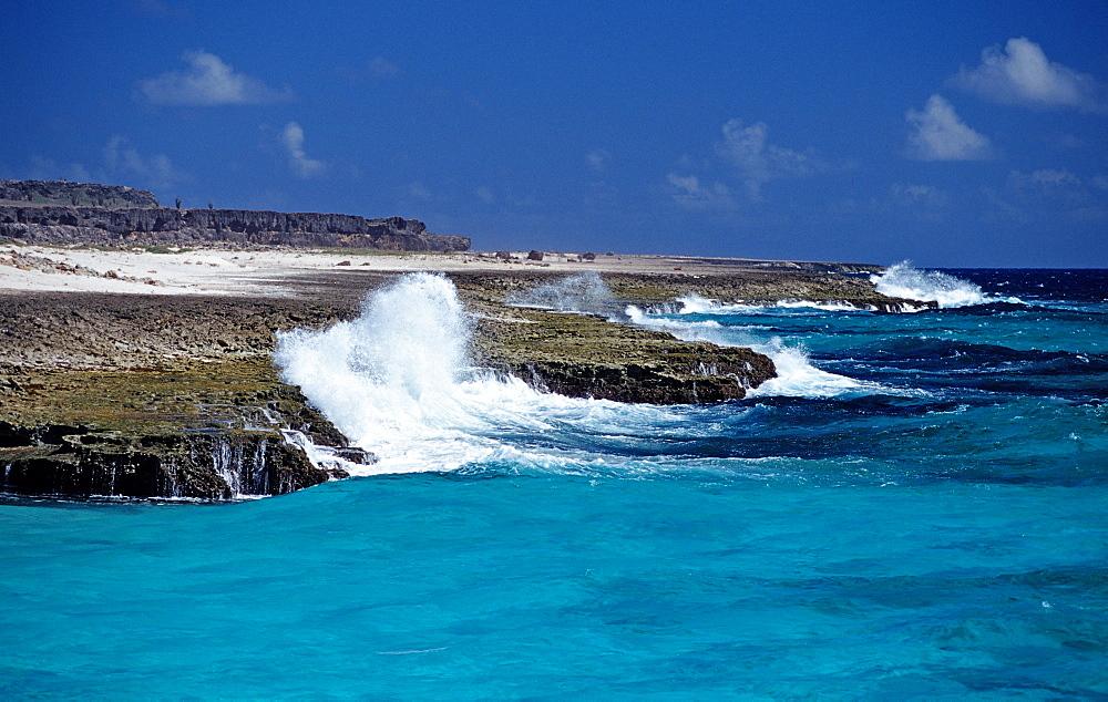 Playa Chikitu Coast, Netherlands Antilles, Bonaire, Caribbean Sea, Washington Slagbaai National Park, Playa Chikitu
