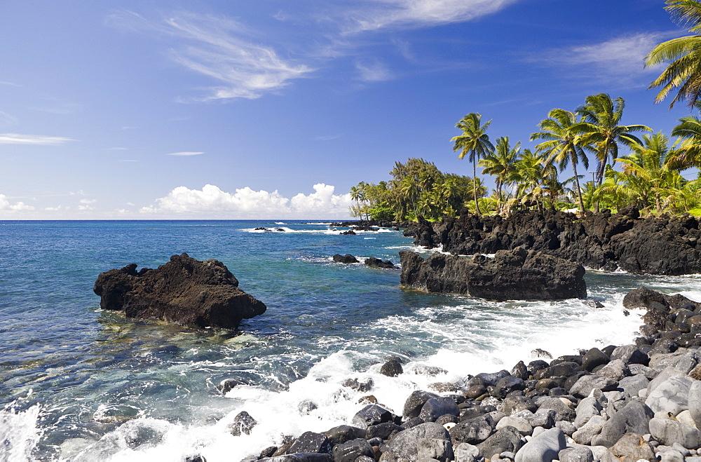 Keanae Point at Road to Hana, Maui, Hawaii, USA