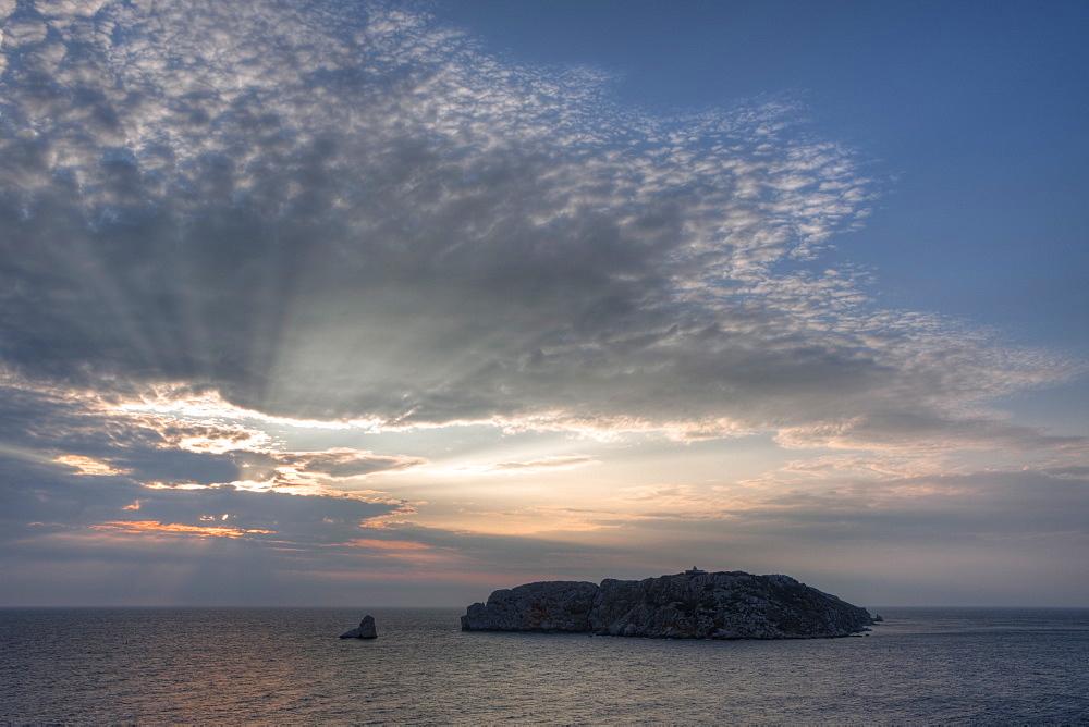 Medes Islands at Costa Brava, Catalonia, Spain