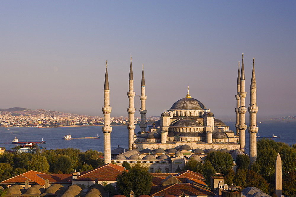Blue Mosque, Sultan Ahmed Mosque, Istanbul, Turkey