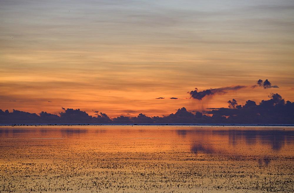 Sunset at Peleliu Island, Peleliu Island, Micronesia, Palau