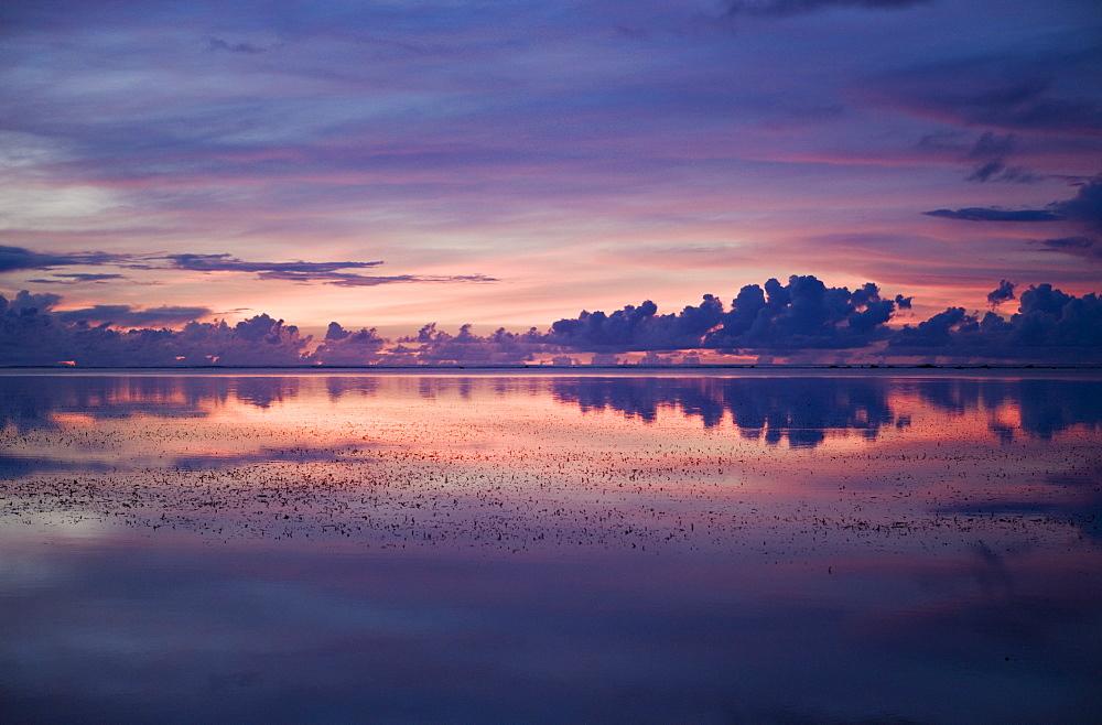 Sunset at Palau, Micronesia, Palau