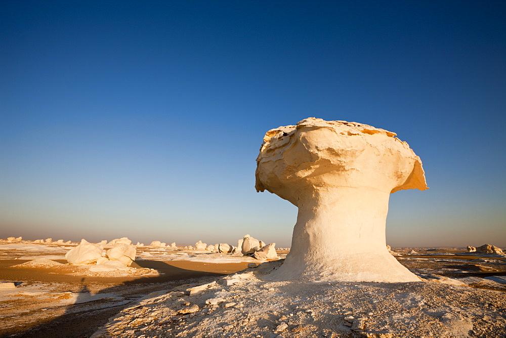Landscape in White Desert National Park, Libyan Desert, Egypt