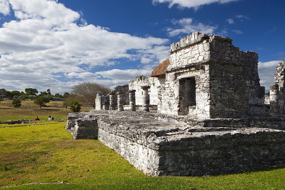 Maya Ruines el Castillo of Tulum, Riviera Maya, Yucatan Peninsula, Mexico