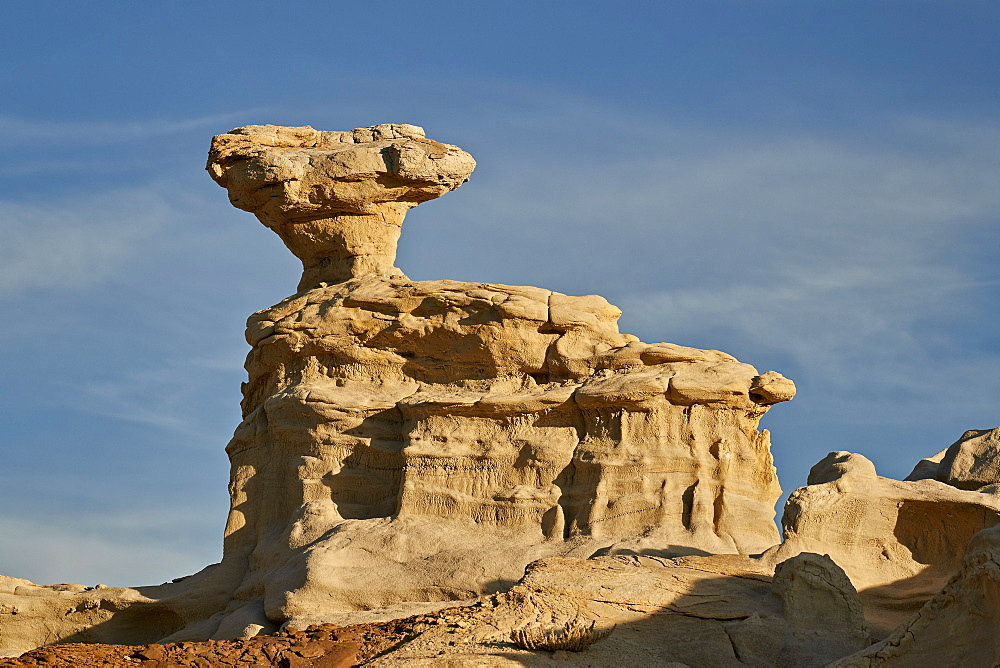 Rock formation, Los Alamos County, New Mexico, United States of America, North America - 764-6244