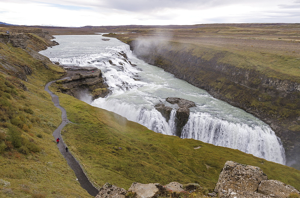 Gullfoss, Golden Circle tour, Iceland, Polar Regions