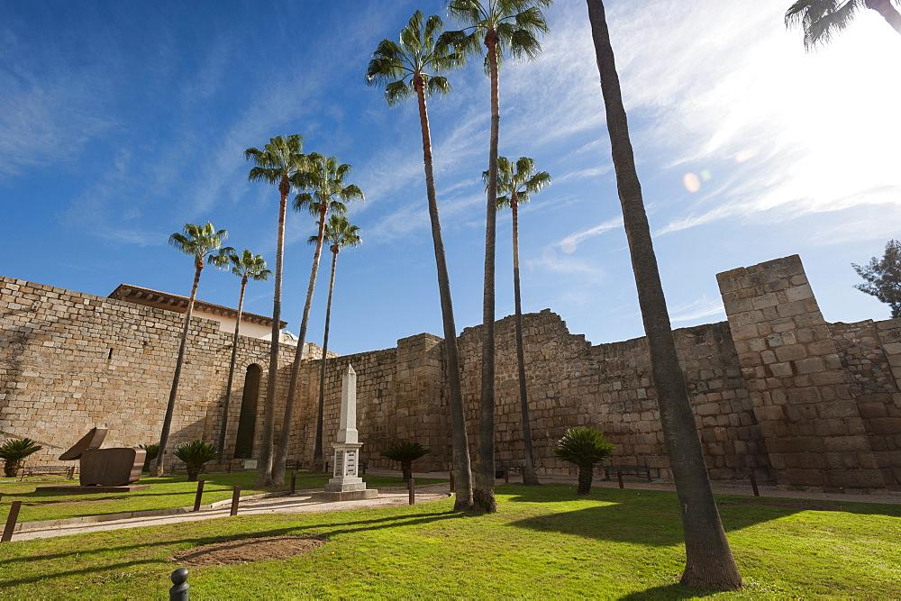 Al Cazaba, Merida, Badajoz, Extremadura, Spain, Europe