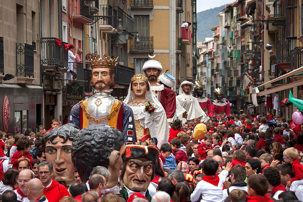 Festival of San Fermin, Pamplona, Navarra, Spain, Europe