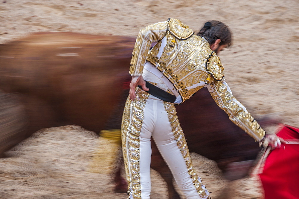 Bullfights, Festival of San Fermin, Pamplona, Spain, Europe