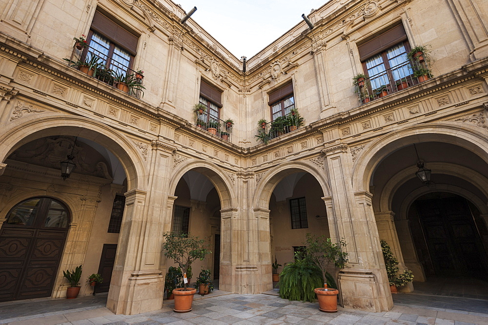 Episcopal Palace, Murcia, Region of Murcia, Spain, Europe