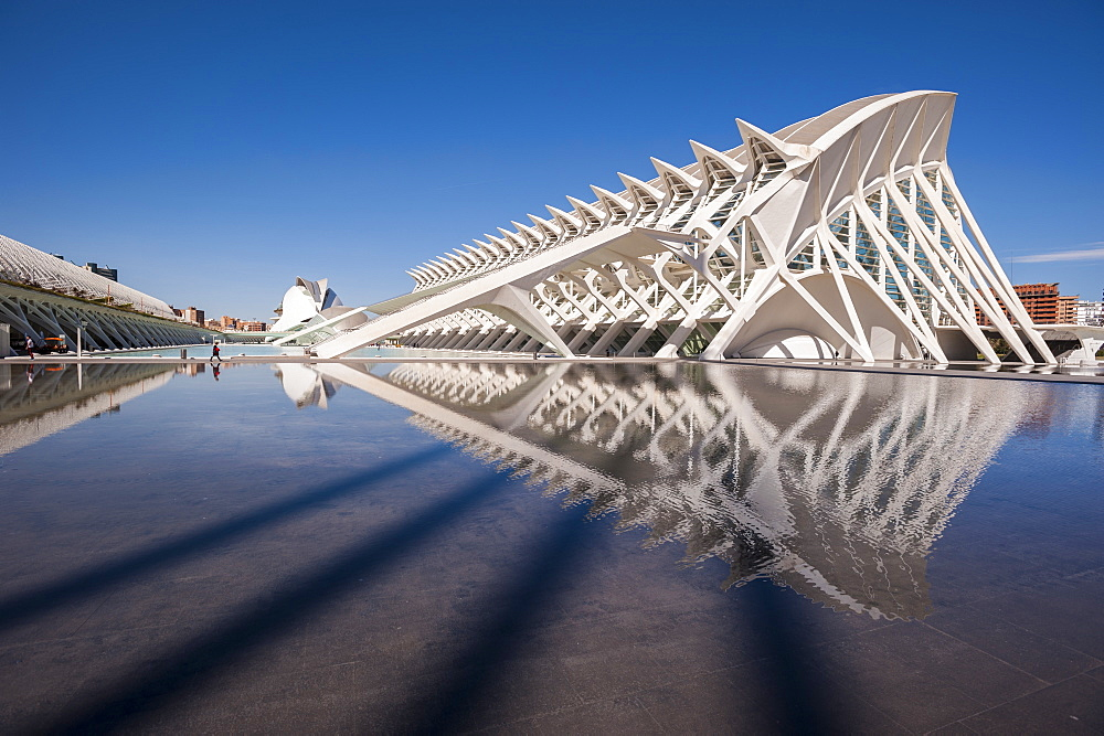 The City of Arts and Sciences, Valencia, Spain, Europe