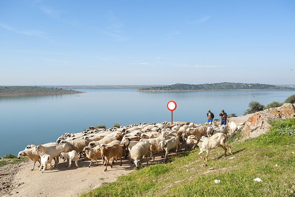 Alange, Badajoz, Extremadura, Spain, Europe