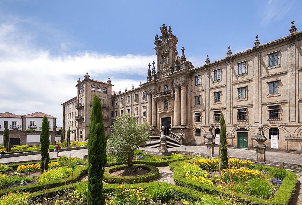 Casa De La Inmaculada, Santiago de Compostela, A Coruna, Galicia, Spain, Europe