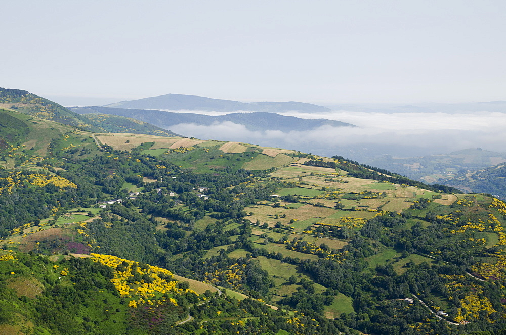 O Cebreiro, Lugo, Galicia, Spain, Europe