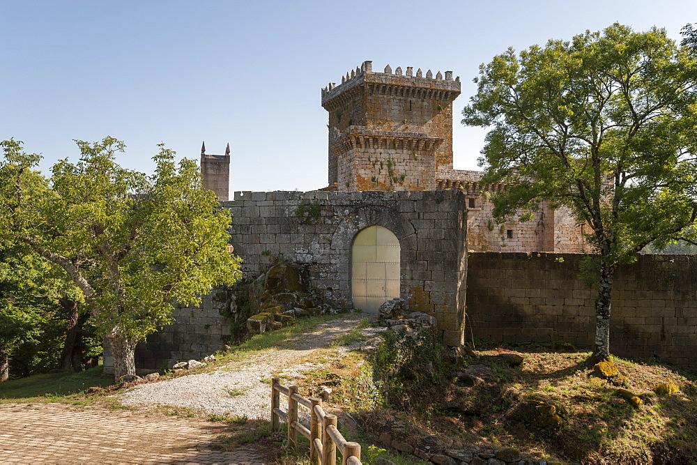 Castle of Pambre, Palas de Rei, Lugo, Galicia, Spain, Europe