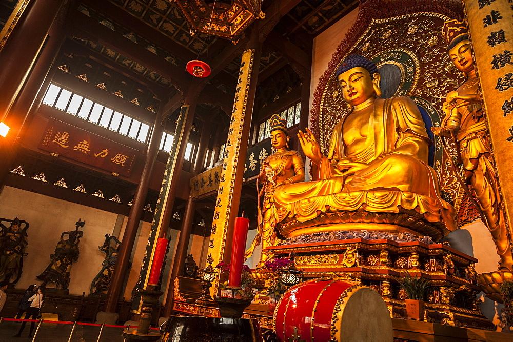 Lingyin Temple, Hangzhou, Zhejiang province, China, Asia - 767-1234