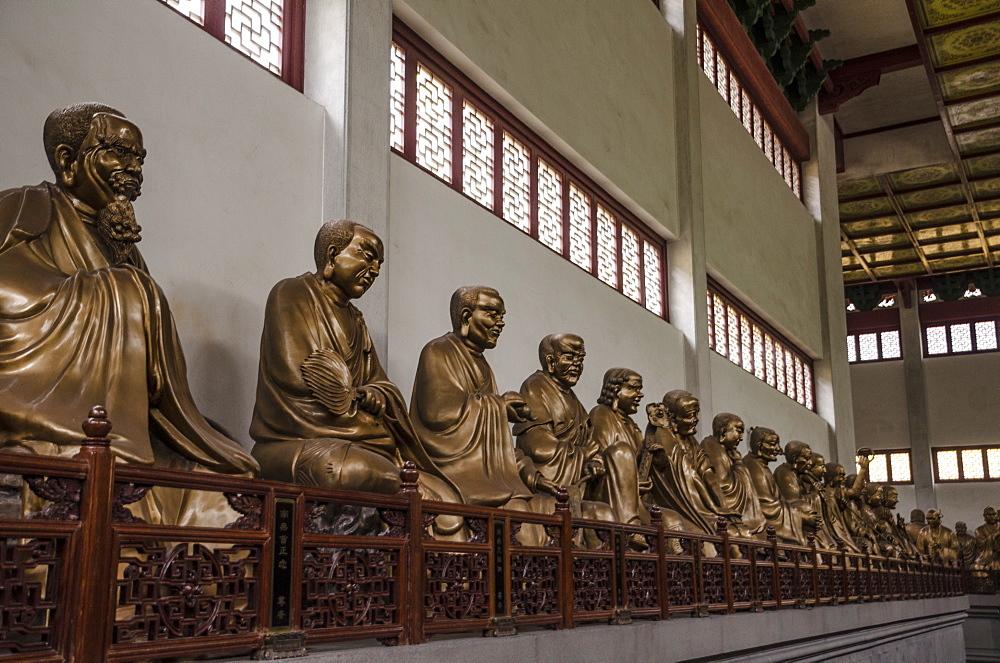 Lingyin Temple, Hangzhou, Zhejiang province, China, Asia - 767-1237