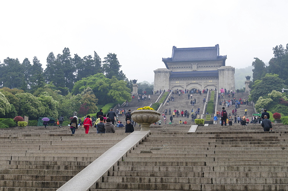 Mausoleum of Dr. Sun Yat-sen, Nanjing, Jiangsu province, China, Asia - 767-1241