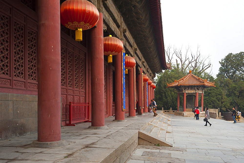 Dai Temple, Taian, Shandong province, China, Asia - 767-1252