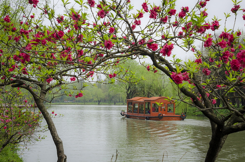 Slender West Lake, Yangzhou, Jiangsu province, China, Asia - 767-1305