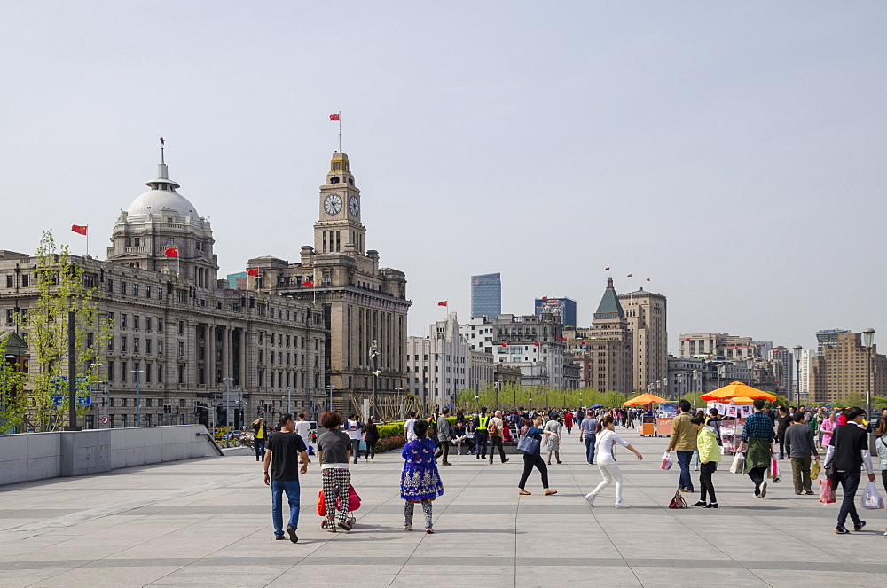The Bund, Shanghai, China, Asia