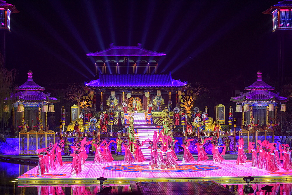 The Song of Everlasting Sorrow Show in Xi'an, Shaanxi Province, China, Asia