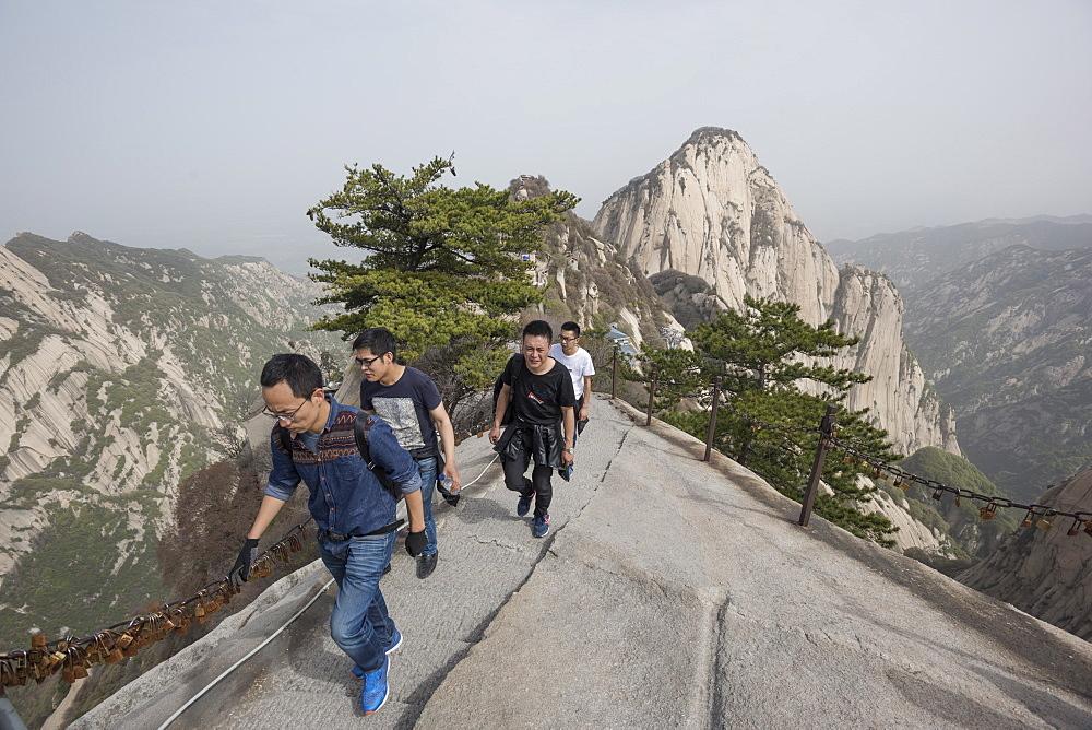 Mount Huashan (Hua Mountain), Shaanxi Province, China, Asia - 767-1326