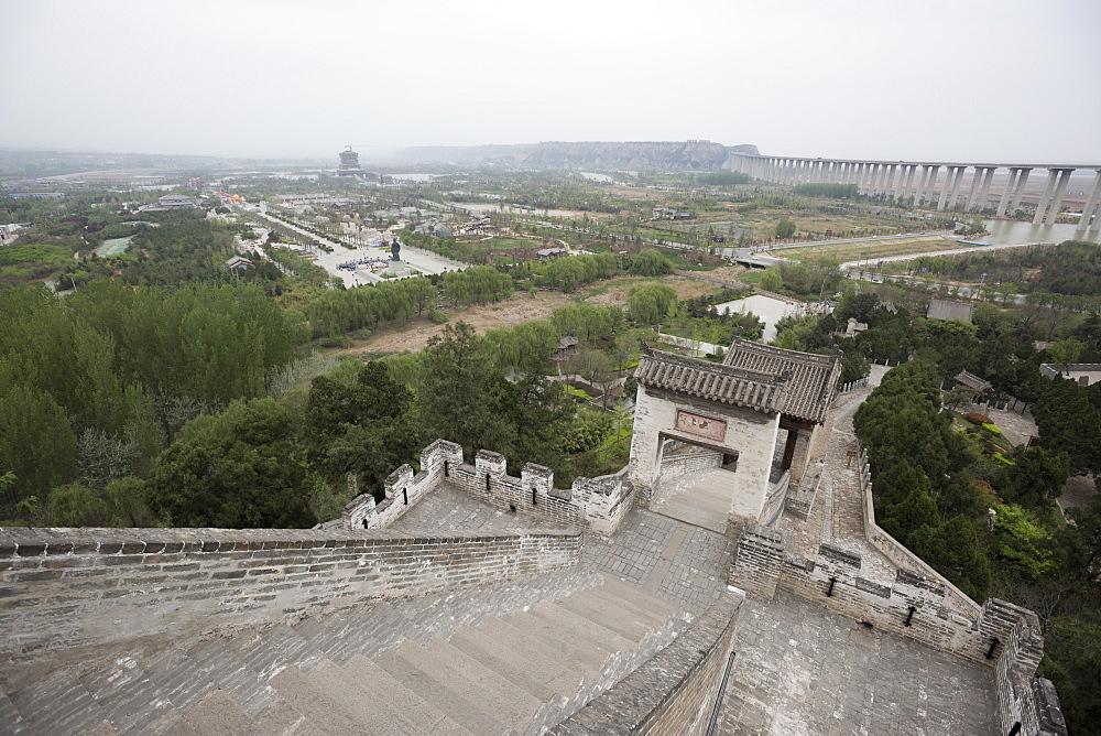 Sima Qian Temple, Hancheng, Shaanxi Province, China, Asia - 767-1335