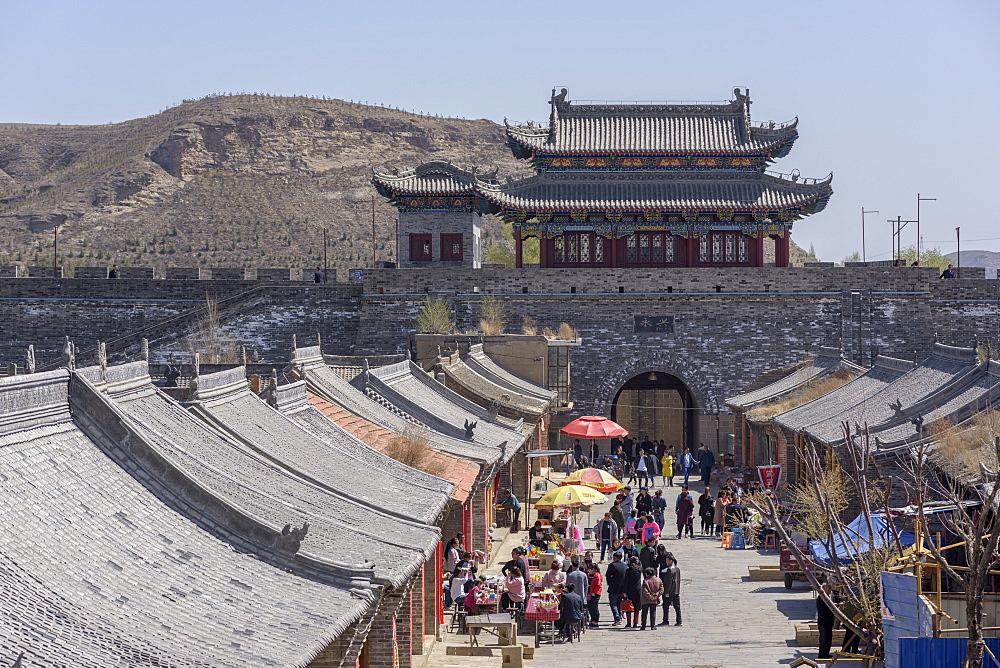 Gaojiabu Ancient Town in Shenmu County, Shaanxi Province, China, Asia - 767-1343