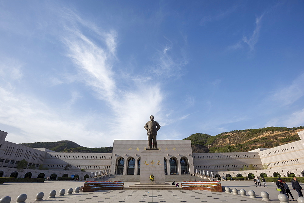 Yanan Revolutionary Memorial Hall, Yan'an, Shaanxi Province, China, Asia - 767-1351