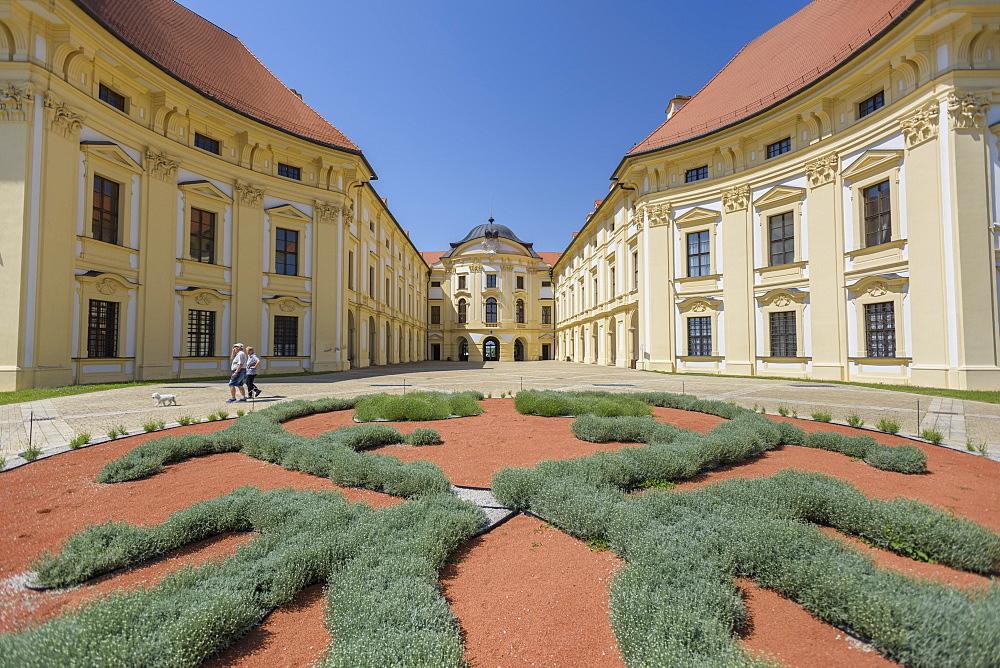 Slavkov Castle (Austerlitz Castle), in Slavkov u Brna, Czech Republic, Europe - 767-1364