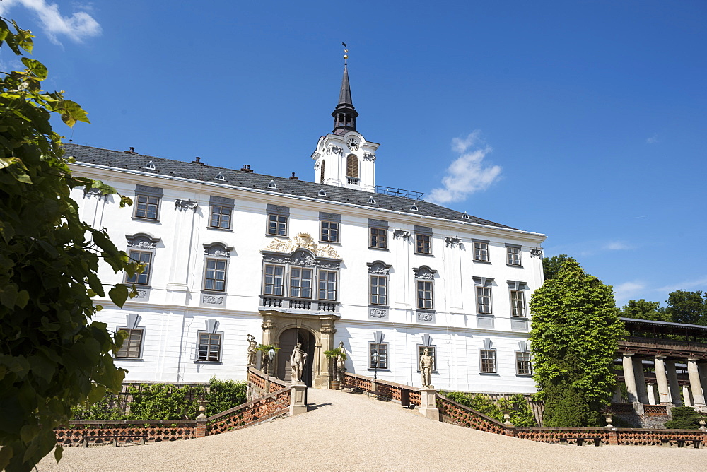 State Chateau Lysice (Lysice Castle), Lysice, Czech Republic, Europe - 767-1365