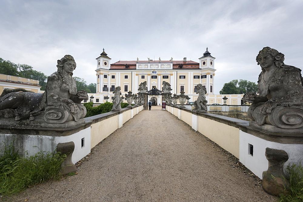 Chateau Milotice, Czech Republic, Europe - 767-1366
