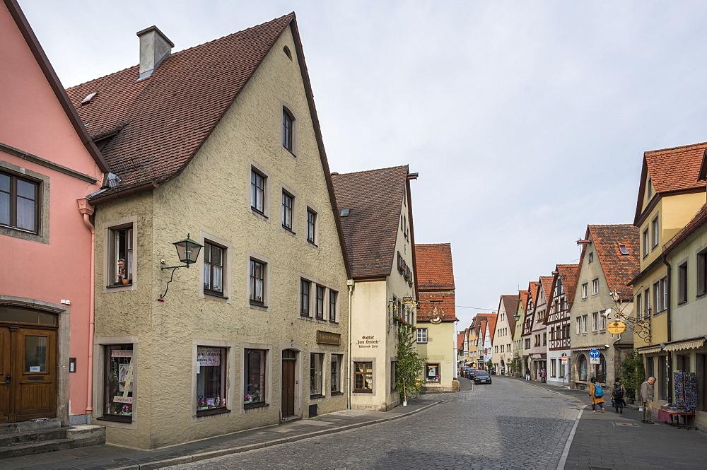 Rothenburg ob der Tauber, Bavaria, Germany, Europe - 767-1370