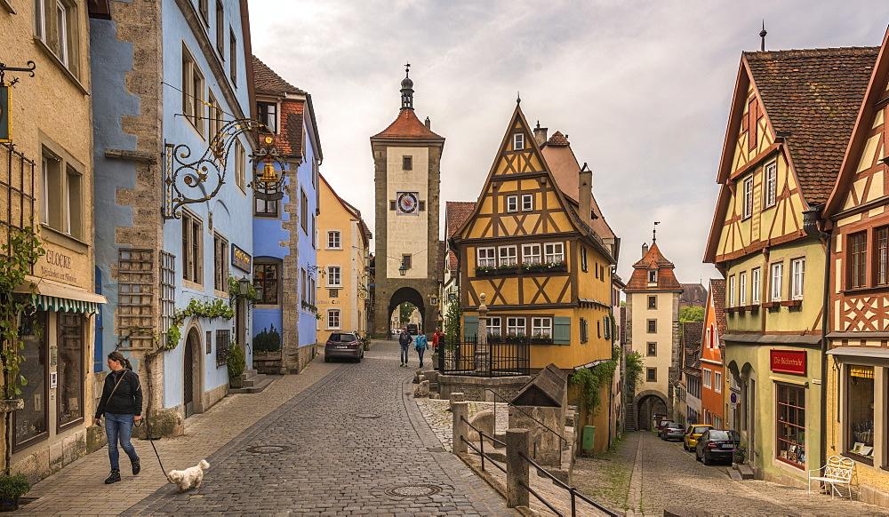 Rothenburg ob der Tauber, Bavaria, Germany, Europe - 767-1371