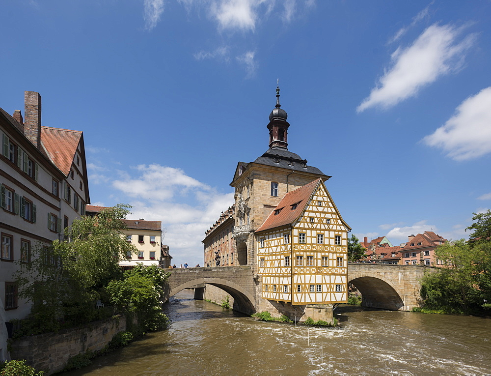 Altes Rathaus, Bamberg, UNESCO World Heritage Site, Bavaria, Germany, Europe