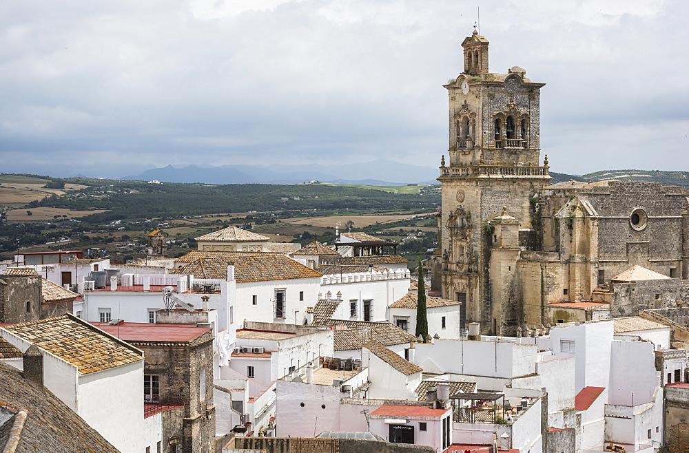 Church of San Pedro, Arcos de la Frontera, province of Cadiz, Andalusia, Spain, Europe - 767-1381