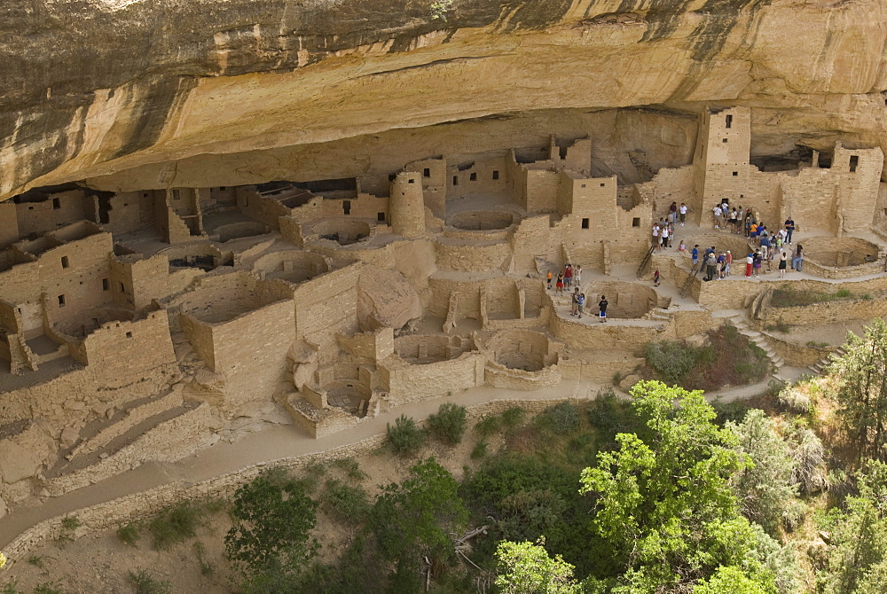 Mesa Verde, Mesa Verde National Park, UNESCO World Heritage Site, Colorado, United States of America, North America