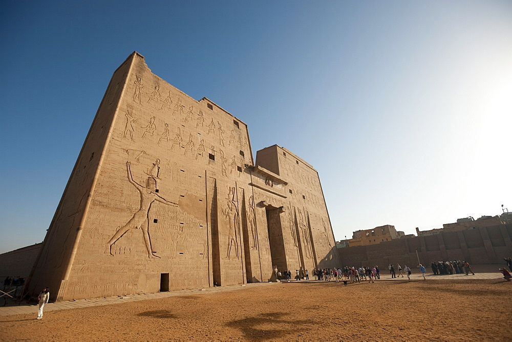 Temple of Edfu, Egypt, North Africa, Africa
