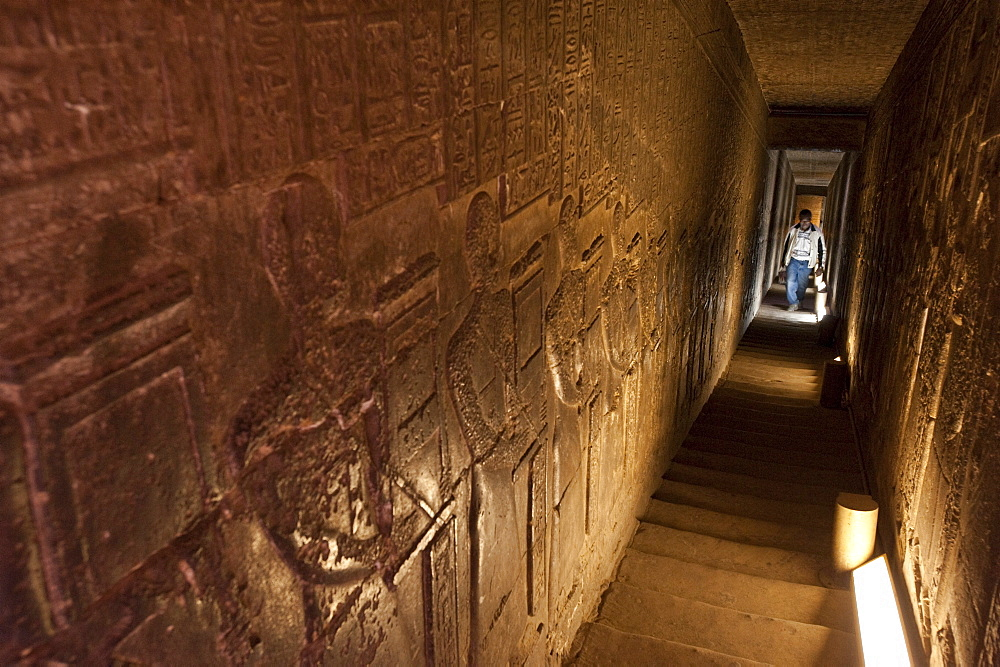 Dendera Temple Complex, Egypt, North Africa, Africa