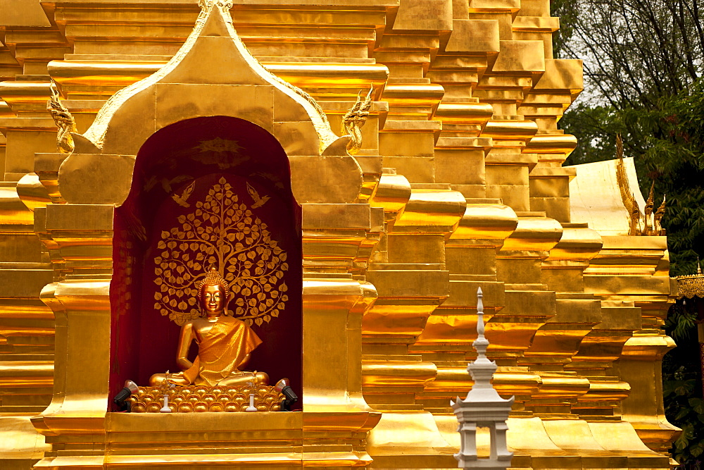 Wat Phan On, Chiang Mai, Chiang Mai Province, Thailand, Southeast Asia, Asia