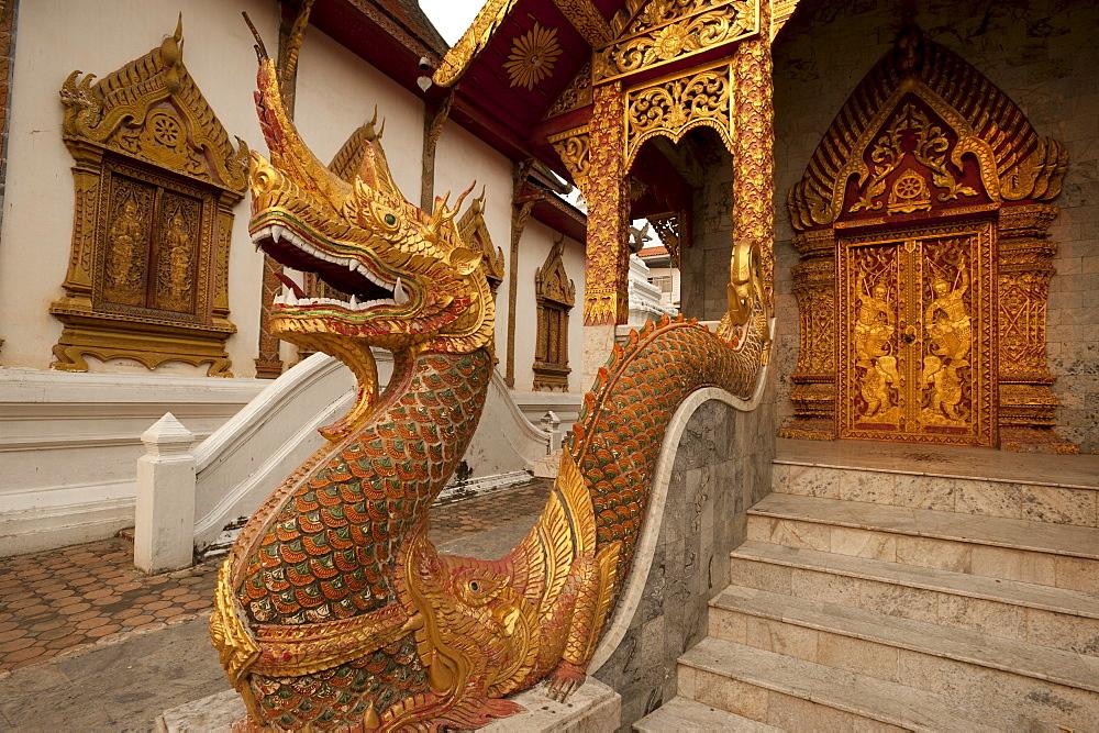 Wat Tung Yu, Chiang Mai, Chiang Mai Province, Thailand, Southeast Asia, Asia
