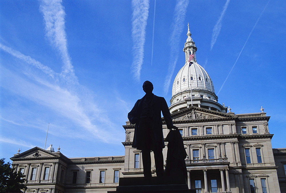 Michigan State Capitol, Lansing, Michigan, United States of America, North America