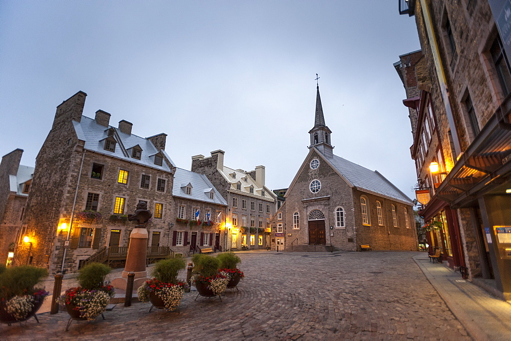 Place Royale, Quebec City, Province of Quebec, Canada, North America