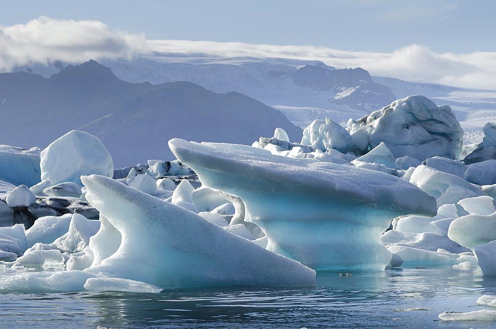 Jokulsarlon Glacier Lagoon, Iceland, Polar Regions  - 767-925