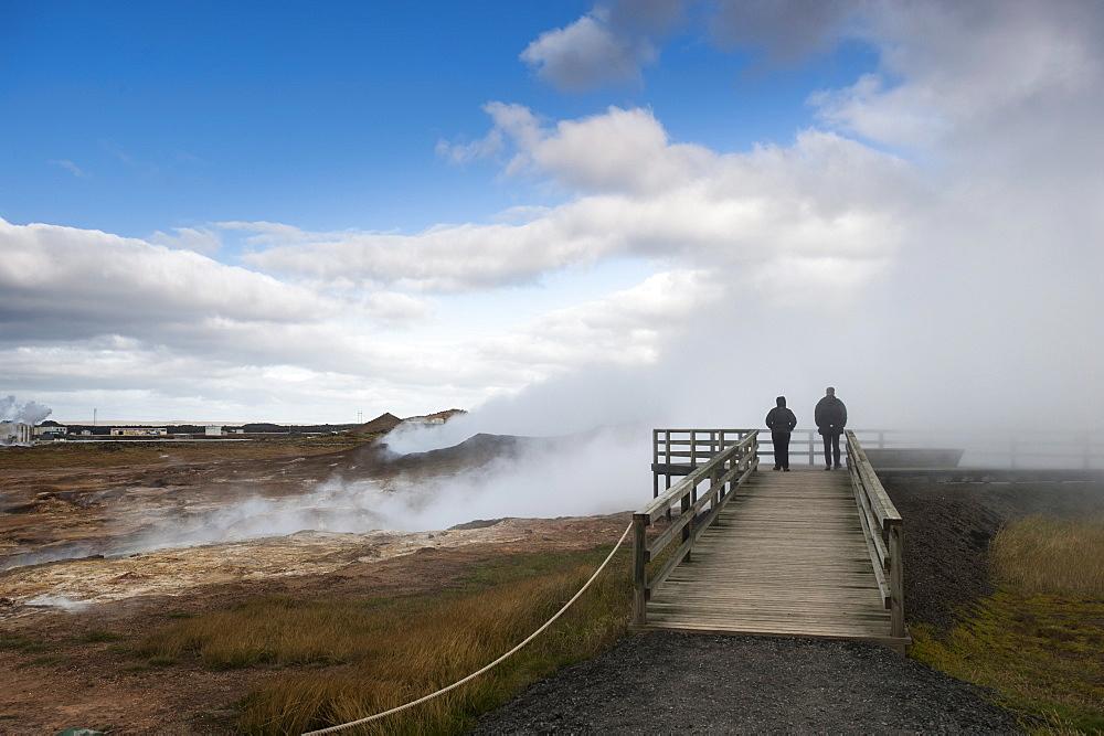 Gunnuhver Hot Spring, Reykjanes Peninsula, Iceland, Polar Regions