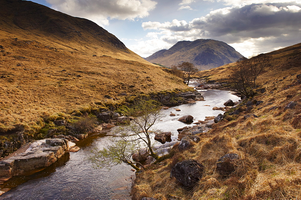 Glen Etive, near Glen Coe (Glencoe), Highland region, Scotland, United Kingdom, Europe - 770-1519