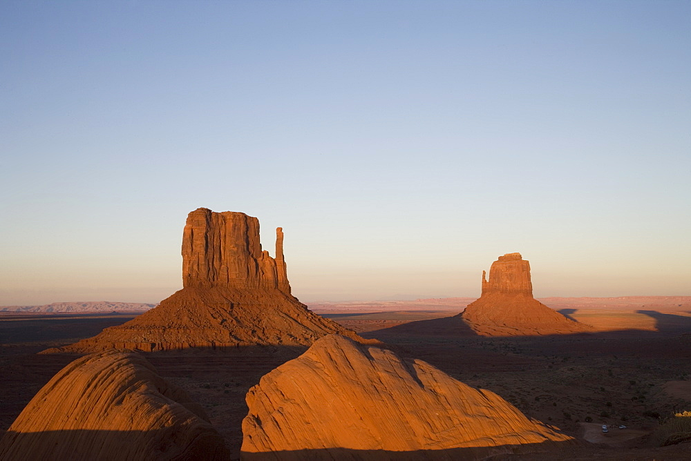 Monument Valley Navajo Tribal Park, Utah Arizona border area, United States of America, North America