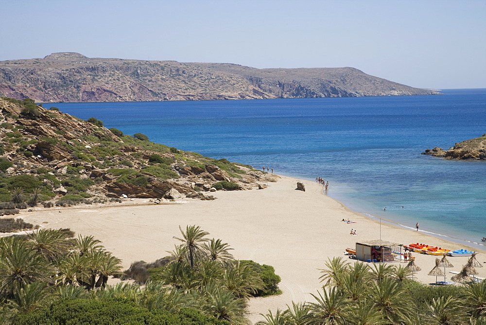 Vai, Crete, Greek Islands, Greece, Europe